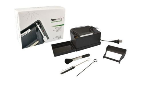 NEW POWERMATIC 2+ ELECTRIC CIGARETTE ROLLING MACHINE INJECTOR