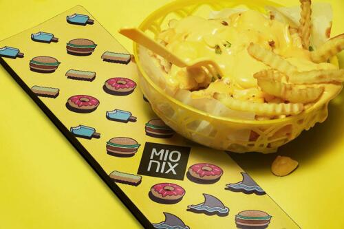 Mionix 44cm Long Pad High Quality Flexible & Soft Mouse Wrist Pad - French Fries