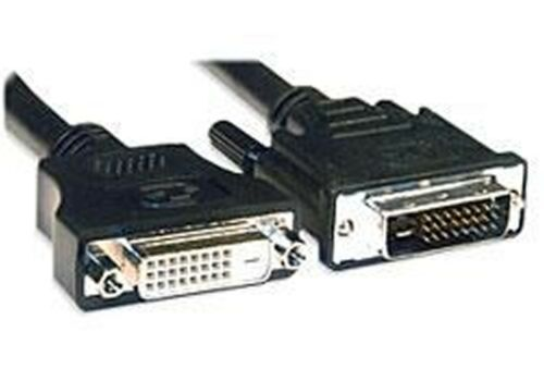 Generic DVI-D Dual Link Male To Female Extension Cable 2m
