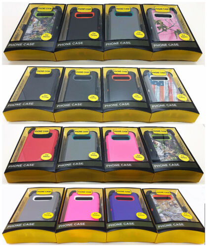 For Samsung Galaxy S10e S10 S10Plus Case Cover(Belt Clip Fit Otterbox Defender)