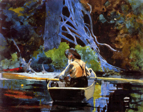 Winslow Homer The Adirondack Guide Print 11 x 14  #5896