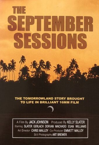 SEPTEMBER SESSIONS - DVD New & Factory Sealed
