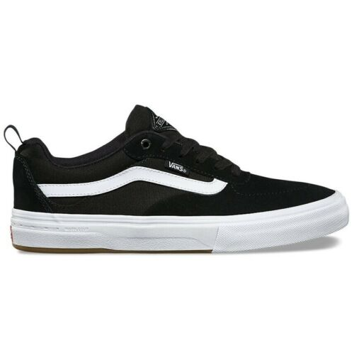 Vans Kyle Walker Pro Black White Mens Skateboard Shoes