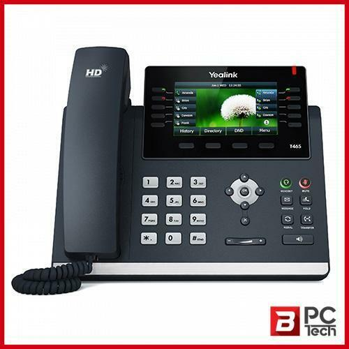 """Yealink T46S 16 Line IP phone, 4.3"""" 480x272 pixel colour display with backlight,"""