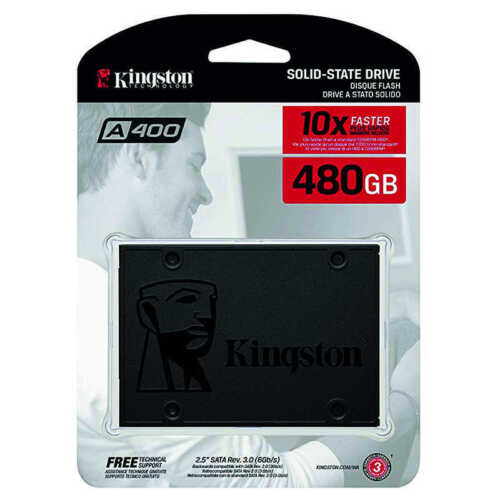 Gigabyte or Kingston 480 GB SSD Hard Drive - NEW