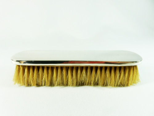 Antique Art Deco 1919 Sterling Silver Clothes Brush Vanity Hair Synyer & Beddoes