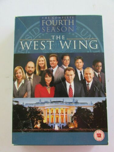 The West Wing - The Complete  Fourth Season - Region 2, 6 discs, 23 episodes