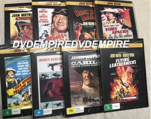 John Wayne 8 DVD Collection Brand New and Sealed Australian Release