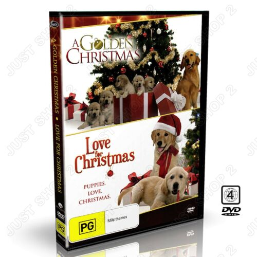 A Golden Christmas + Love For Christmas DVD : TV Movie : Brand New & Sealed