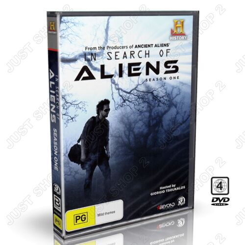 In Search Of Aliens : Season 1 : History Channel 3-Disc Set : New DVD
