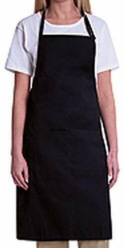 BIB APRON WITH 2 WAIST POCKETS-1 PIECE PACK  <br/> BEST DEAL ON THE NET. SHIPS FROM MIAMI USA.