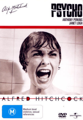 Psycho DVD Alfred Hitchcock HORROR MYSTERY THRILLER TOP 250 MOVIES BRAND NEW R4
