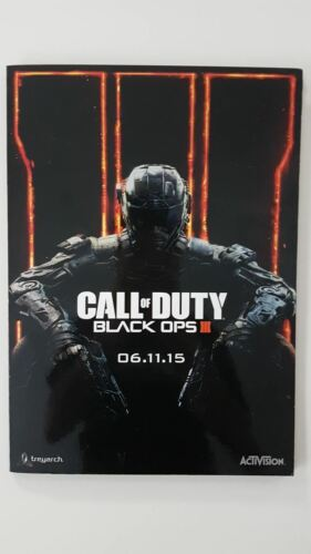 Call Of Duty Black Ops III Collectable Artwork