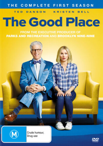 THE GOOD PLACE: SEASON 1 (2018, DVD, 4 DISC SET) BRAND NEW/SEALED