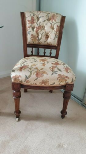 Edwardian Oak chair