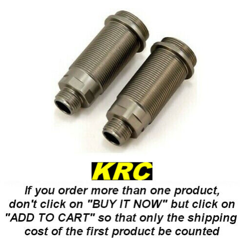 TLR243003 REAR SHOCK BODY (2) 8IGHT 3.0-4.0 CORPS D'AMORT. (2) ARR 8IGHT 3.0-4.0
