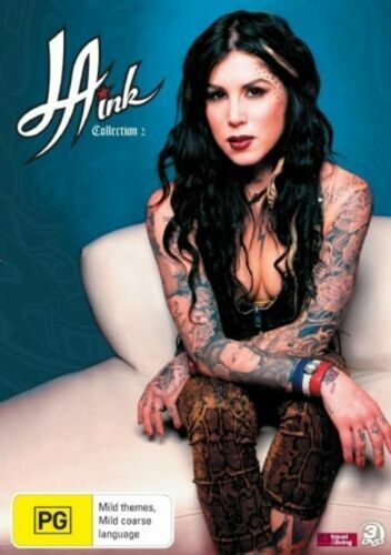 LA INK (COLLECTION 2 - DVD SET *PROMO* SEALED + FREE POST)