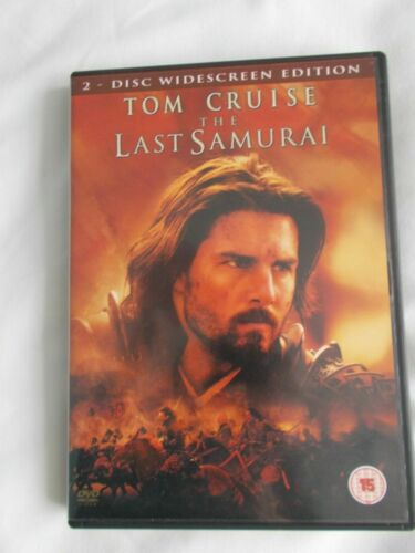 THE LAST SAMURAI (2 DISC SPECIAL EDITION - *REGION 2* SEALED + FREE POST)
