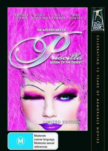 THE ADVENTURES OF PRISCILLA QUEEN OF THE DESERT (MOVIE - DVD SEALED + FREE POST)