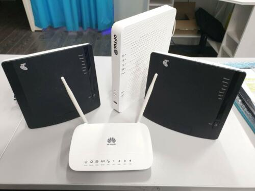 Telstra, Optus, Huawei Modem Routers