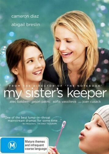 MY SISTER'S KEEPER (2009 MOVIE - DVD SEALED + FREE POST)