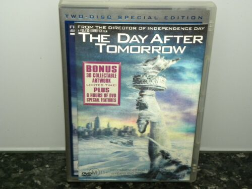 DVD, The Day After Tomorrow, Two Disc Special Edition - 3D artwork