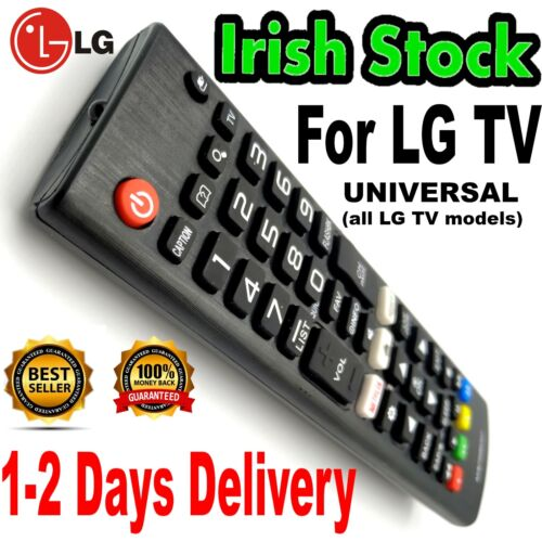 LG TV Quality Universal Replacement Remote Control For ALL MODELS incl SMART TV