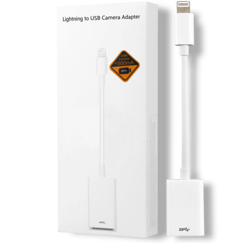 iOS OTG USB Adapter for Apple iPad 4 5 6 7, Mini 3 4 5, Air 1 2 3, Pro 1 2