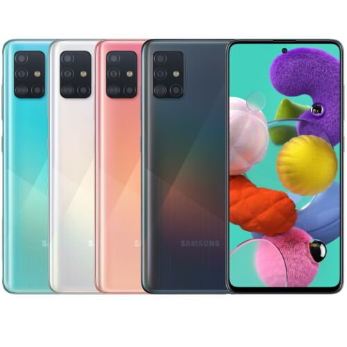"Samsung Galaxy A51 128GB 6GB RAM SM-A515F/DSN Dual Sim (FACTORY UNLOCKED) 6.5"" <br/> ✤ in Stock ✤ Ship Worldwide ✤ USA Seller ✤ Top Rated"