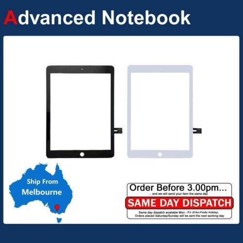 Touch Screen Digitizer Replacement Apple 2018 iPad 6 6th Gen A1893 A1954 NO-HOME