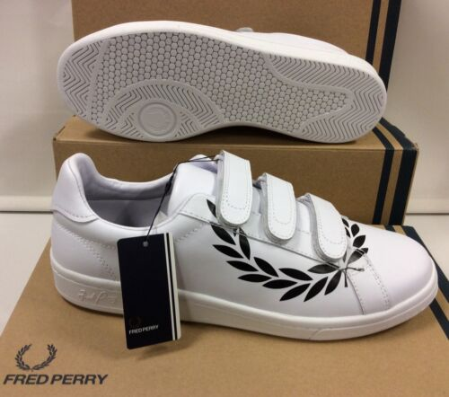 Fred Perry Leather Men's Sneakers Trainers Shoes UK 10 / EU 45
