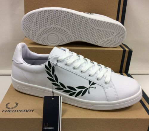 Fred Perry Laurel Leather Men's Sneakers Trainers Shoes UK 9.5 / EU 44