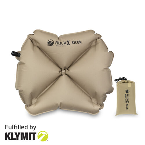 Klymit Pillow X Recon Camping Travel Pillow Lightweight - Brand New <br/> 🔥50% OFF Retail Price - ⏳Limited Time Offer⌛️