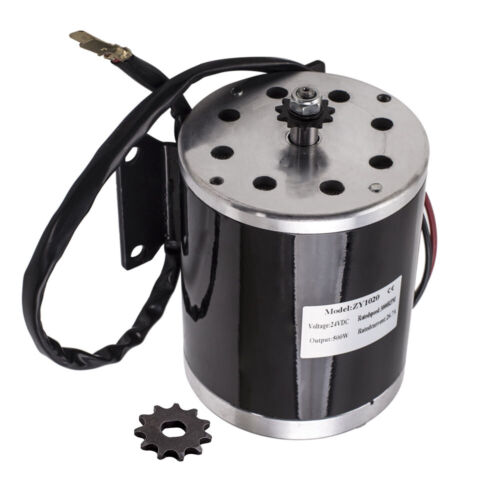 24V DC 500W 26.7A Electric Motor 2500Rpm MY1020 For E-Scooter Electric Bike new
