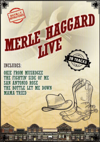 [BRAND NEW] DVD: MERLE HAGGARD LIVE