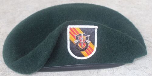 Authentic New US Army 5th Special Forces Group Green Beret, US Government IssueOther Militaria - 135