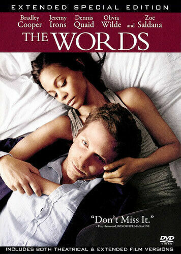 The Words : Extended Special Edition DVD (Region 1) Free Post!!