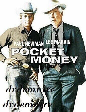 Pocket Money DVD 1972 Paul Newman Lee Marvin New and Sealed Australian Release