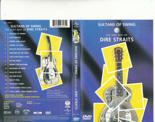 SULTANS OF SWING - THE VERY BEST OF DIRE STRAITS -  16 TRACKS  - ALL REGIONS