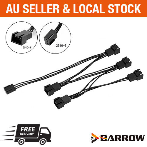 5V 3Pin 1 to 5 way extender line splitter RGB Cable for Barrow LRC 2.0 Lighting