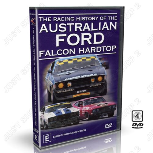 The Racing History Of The Australian Ford Falcon Hardtop : Brand New