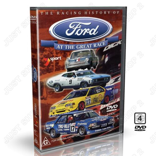 Ford At The Great Race DVD : Racing History 1960 to 1997 : Brand New 2 Disc Set