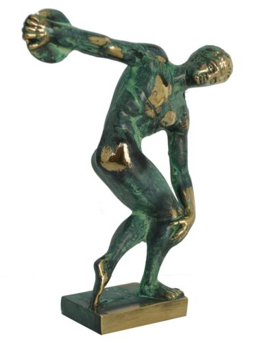 Discobolus of Myron Bronze Statue Sculpture - Discus Thrower - Olympic Games