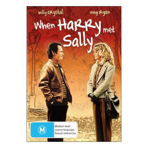 When HARRY Met SALLY DVD TOP 500 MOVIES BEST PICTURE Comedy Romance BRAND NEW R4
