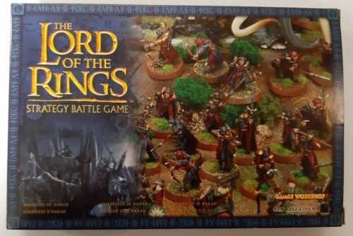 LORD OF THE RINGS - Warriors of Harad LOTR 05-32 Citadel GAMES WORKSHOP