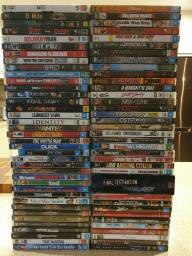 Clearance DVD's Sale - Assorted titles to choose from