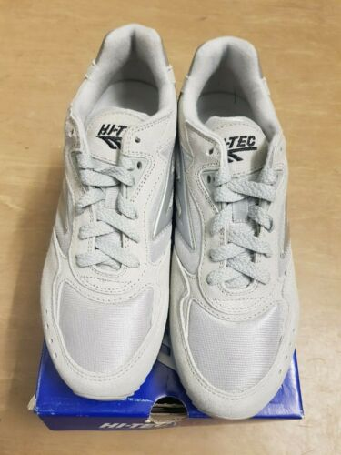 NEW Vintage Hi Tec Silver Shadow Sports Outdoor Trainers Shoes 4 UK #5