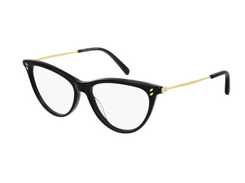 Stella McCartney Occhiali da Vista SC0241O  001 Nero Cat Eye Autentici