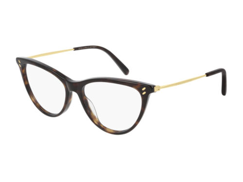 Stella McCartney Occhiali da Vista SC0241O  002 Havana Cat Eye Autentici
