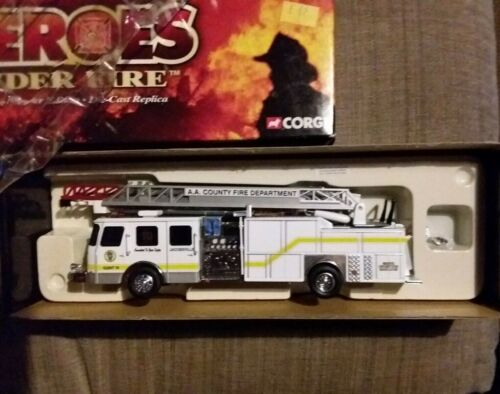 Voiture de pompiers Corgi Heroes under fire 1/50 US54905 Anne Arundel County MD